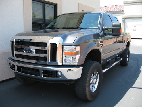 >> 2008 Ford F350 - 4x4 Short Bed Crew Cab - Diesel - Super Duty - Lariat <<